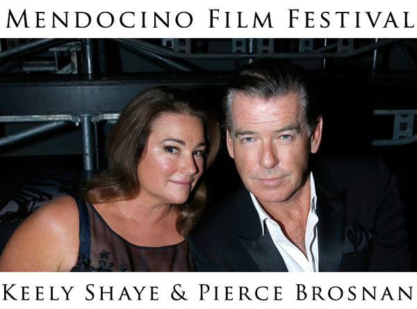 Keely and Pierce Brosnan